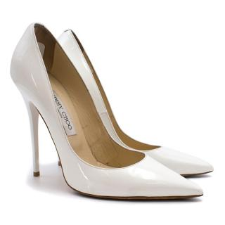 Jimmy Choo Patent Pointed Pumps