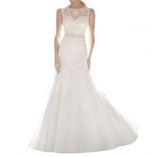 Morilee by Madeline Gardner Tulle Bridal Wedding Dress