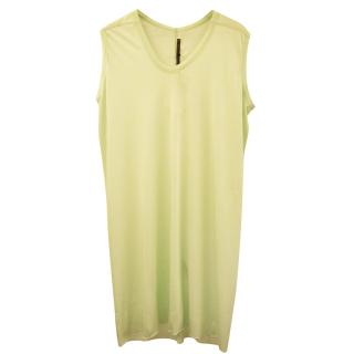 Rick Owens sleeveless Cotton Dress