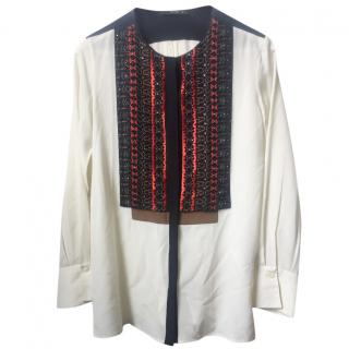 Etro Silk Embellished Shirt