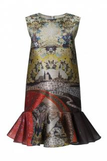 Mary Katrantzou Jaspa Peplum Dress