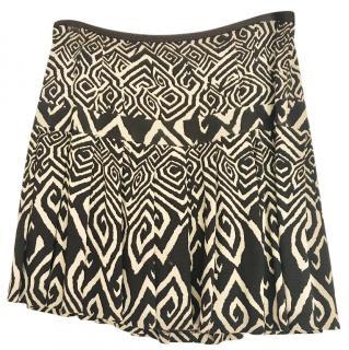 Diane Von Furstenberg Aztec Miniskirt