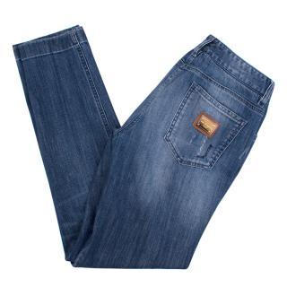 Dolce & Gabbana Blue Denim Jeans