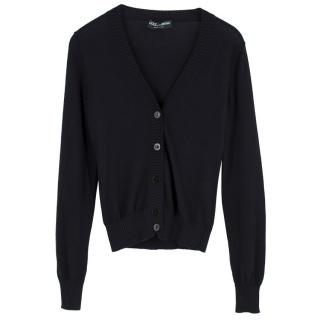 Dolce & Gabbana Silk & Cashmere Cardigan