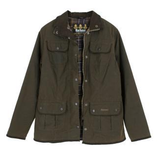 Barbour Olive Utility Jacket