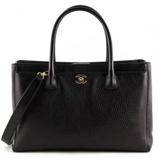 Chanel Black Leather Executive Cerf Bag