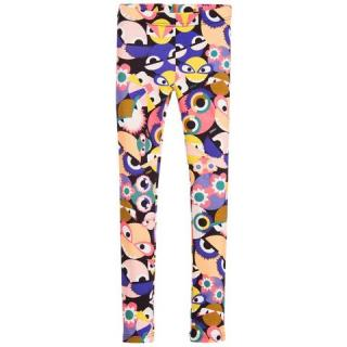 Fendi Girl's Monster Printed Leggings