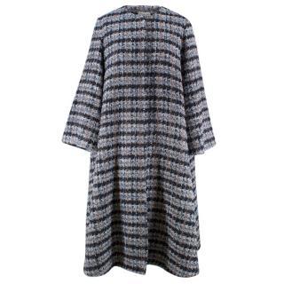 Beulah London Blue Tweed Coat