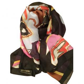 Mary Katrantzou multi coloured scarf