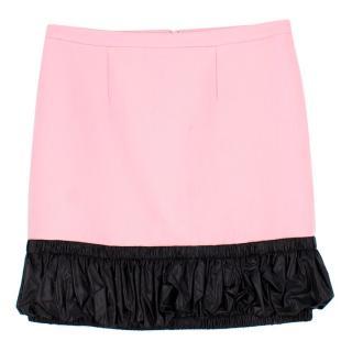 Christopher Kane Wool A-Line Skirt