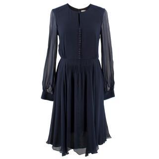 Beulah London Silk Midi Dress