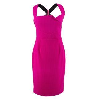 Roland Mouret Pink Dress