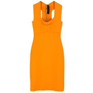 Roland Mouret Orange Bodycon Dress