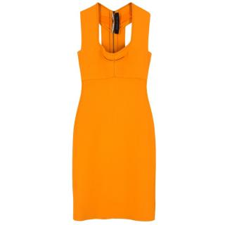Roland Mouret Orange Bodycon Dress