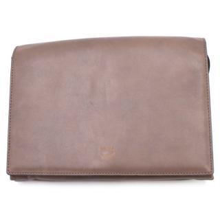 MCM Taupe Crossbody Bag