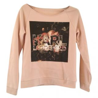 Karl Lagerfeld long sleeved sweatshirt