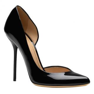 Gucci Black Patent 'Noah' D'orsay Pumps