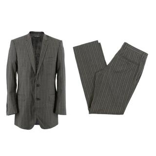 Dolce & Gabbana Grey Tailored Two Piece Suit