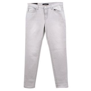 J Brand Grey Boyfriend Jeans