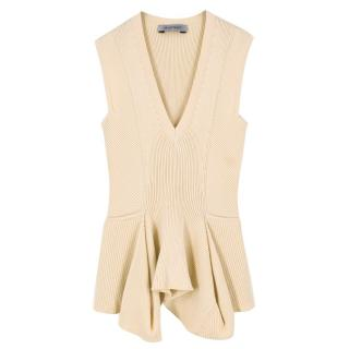 Sportmax Knit Peplum Top