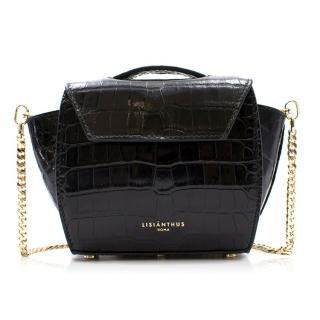 Lisianthus Roro Micro Crocodile Crossbody Bag