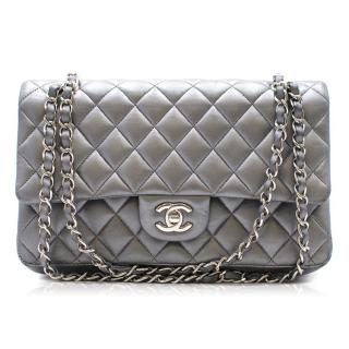 Chanel Metallic Medium Classic Double Flap Bag