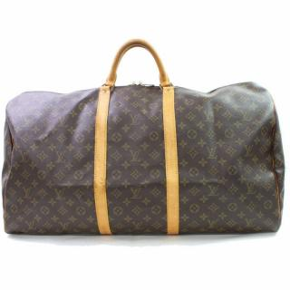Louis Vuitton Keepall 60 Monogram Boston Bag