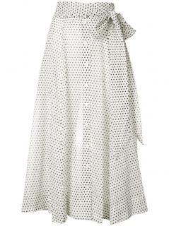 Lisa Marie Fernandez Polka Dot Beach Cover Up Skirt