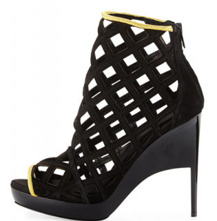 Burberry Edenside Caged Runway Sandals