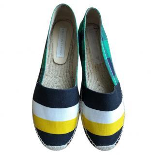 Stella McCartney striped espadrilles