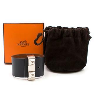 Hermes Palladium Studded Cuff