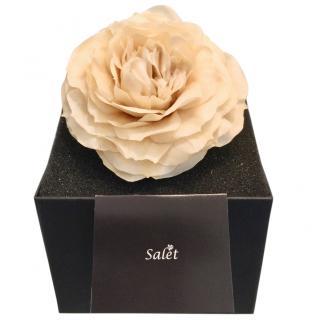 Salet Real Resin Rose Brooch
