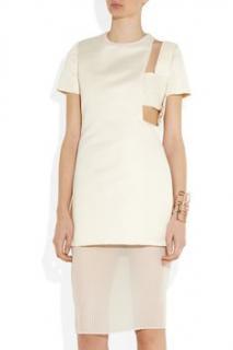 Esteban Cortazar White Cutout Dress
