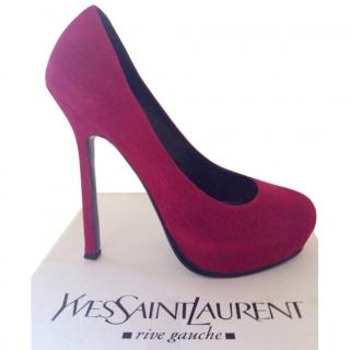 YSL Tribtoo Platform Pumps