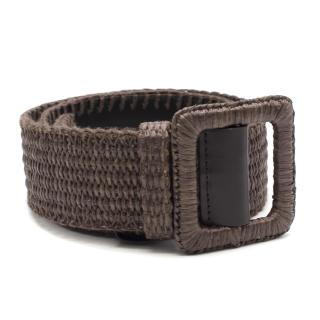 Yves Saint Laurent Wicker Belt