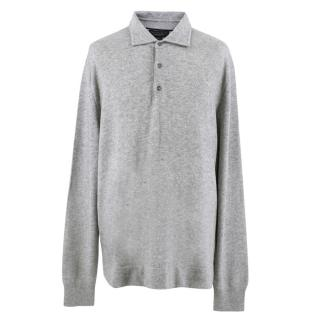 The Men's Store Bloomingdales Grey Sweater