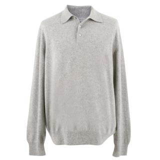 Alan Paine Grey Cashmere Sweater