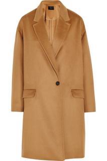 Isabel Marant Corey Caban Wool/Cashmere Blend Coat