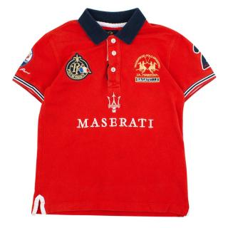 La Martina Junior Polo Top