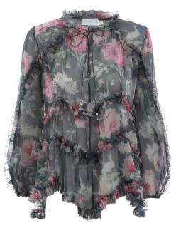 Zimmermann Iris Ruffle Top