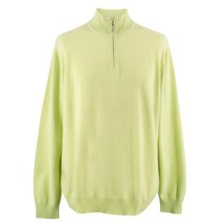 Malo Cashmere Half-Zip Sweater