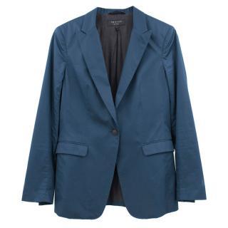 Rag & Bone Blue Blazer Jacket