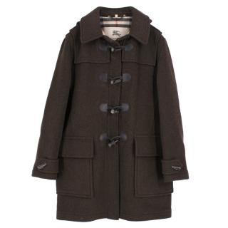 Burberry Brown Duffle Coat