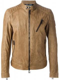 Belstaff Brown Kirkham Blouson Jacket