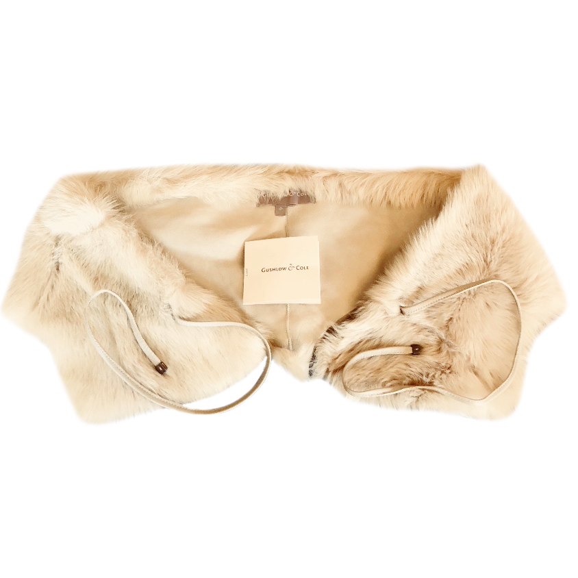 Gushlow & Cole toscana shearling Scarf