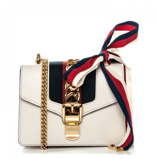 2758edf081ad Gucci Sylvie Leather Mini Chain Bag | HEWI London