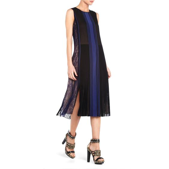 BCBG Max Azria Runway Marieke Silk Dress
