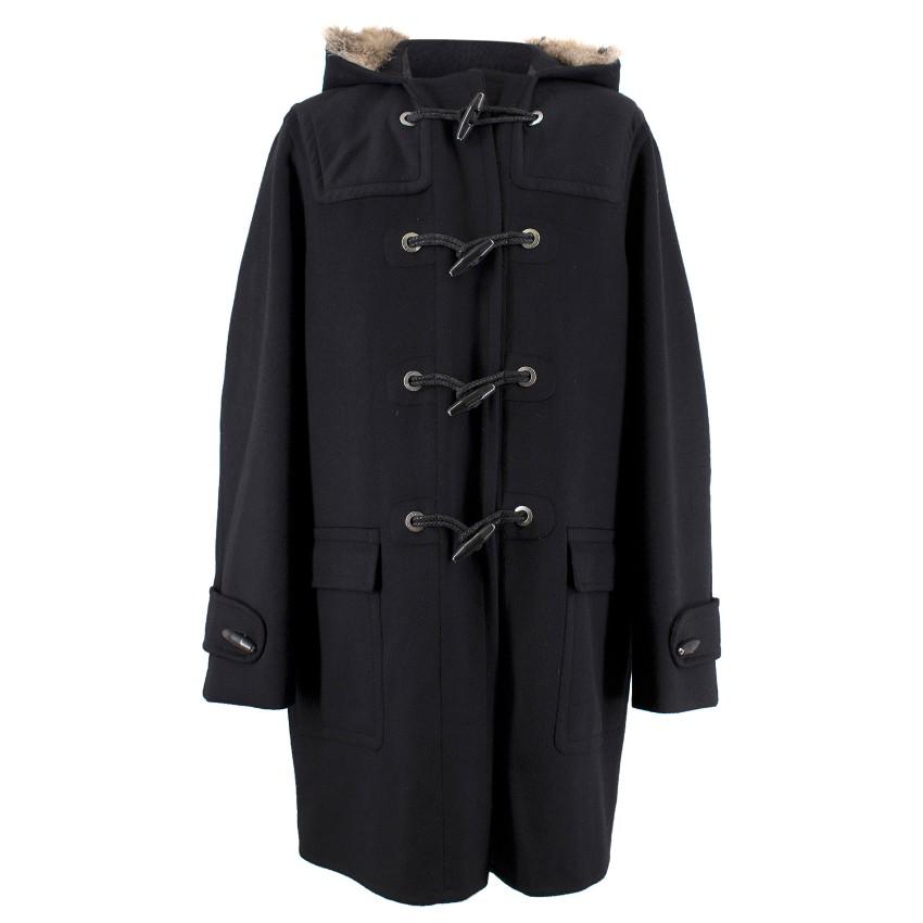 Louis Vuitton Men's Wool and Cashmere Coat
