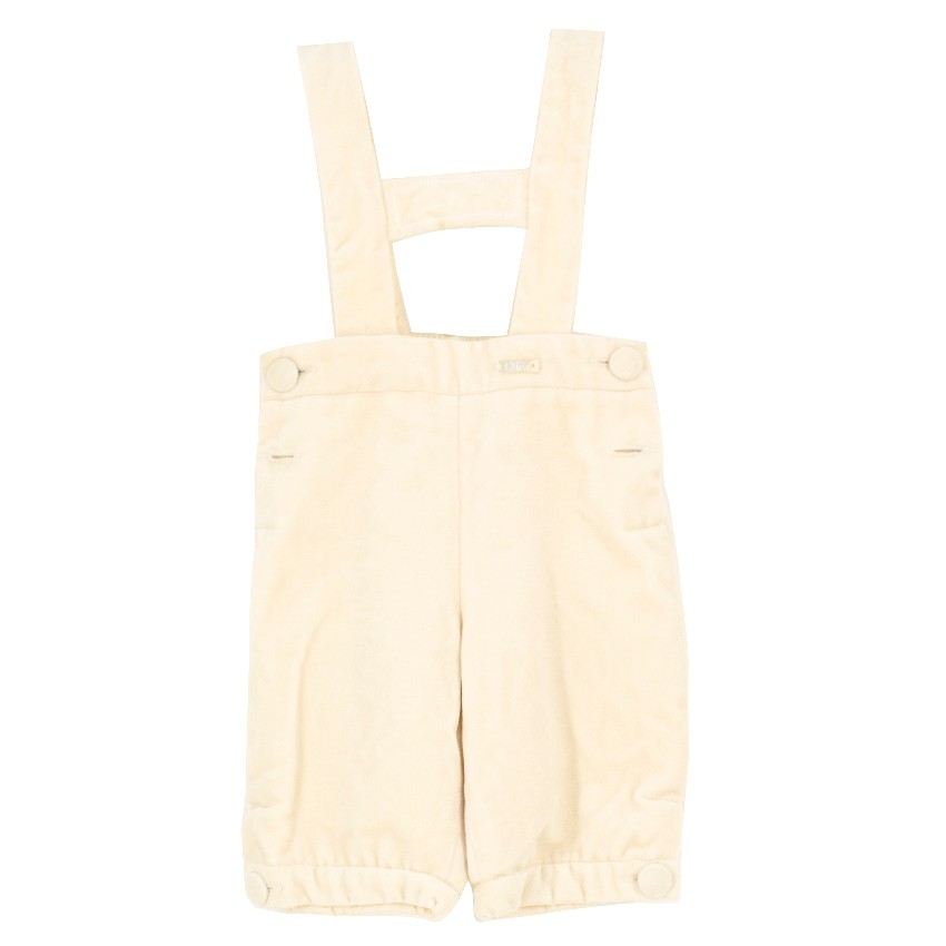 Baby Dior Boy's Silk Dungarees
