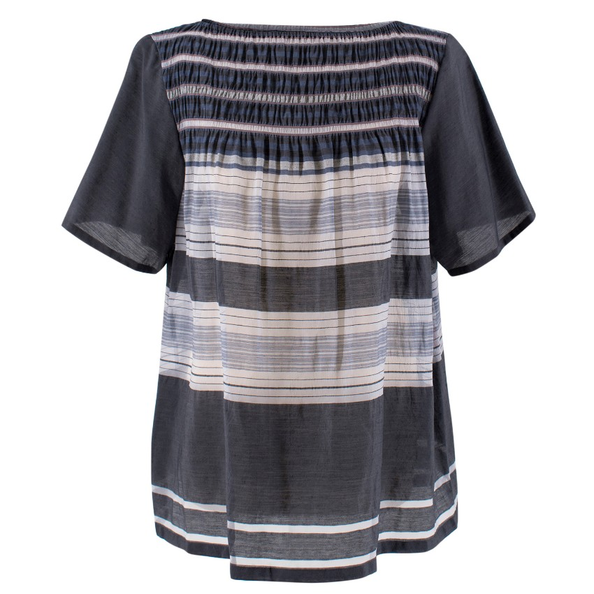 Haat for Issey Miyake Ruched Top